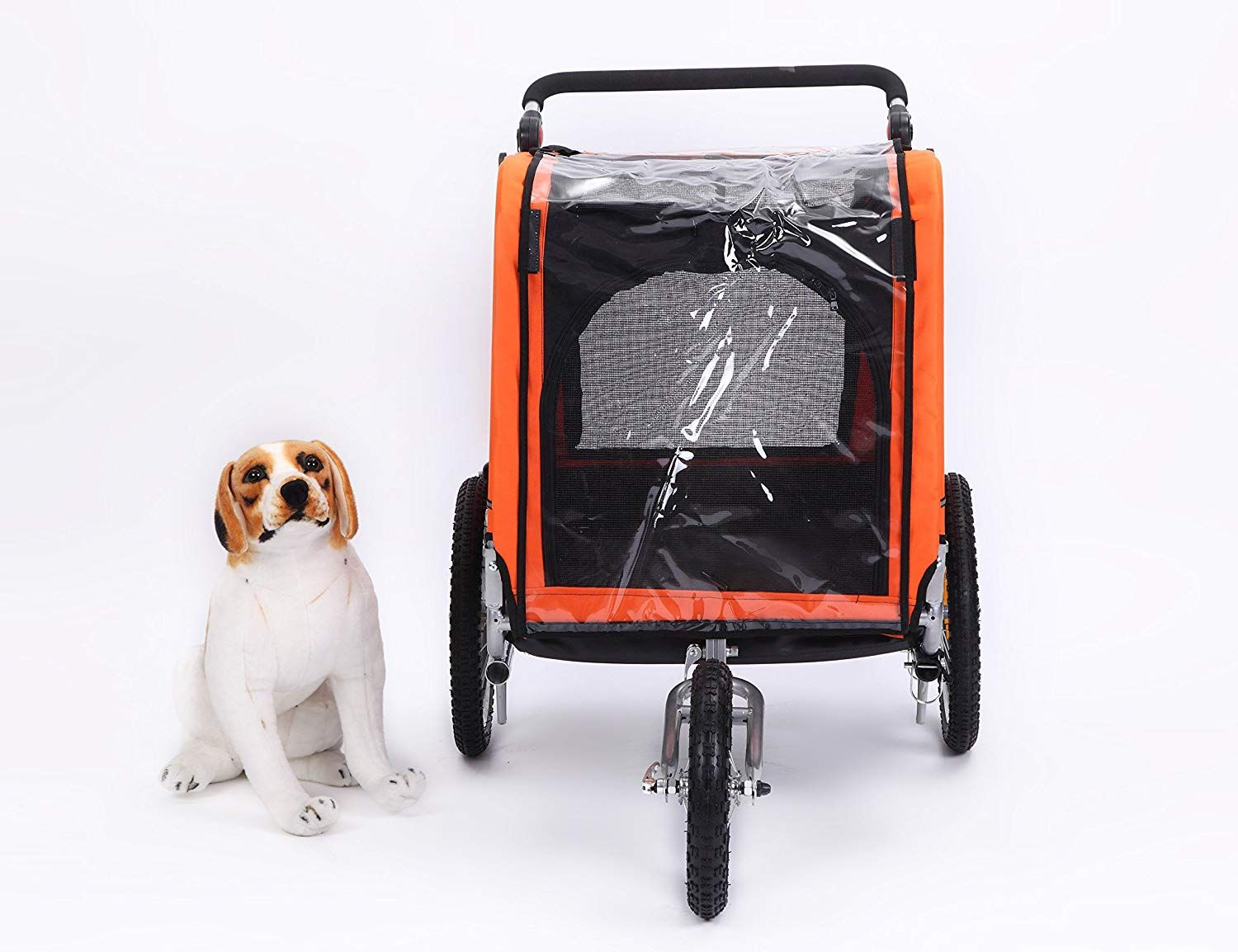 Sepnine 3 in 1 Luxury Large Sized Bike Trailer Bicycle Pet
