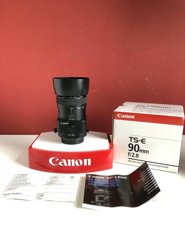 Objektiv Canon Ts E 90mm 1 28 Fur Eos 7d 6d 5d 1ds 1d Tse Canon Ef Lenses Canon Ef Canon