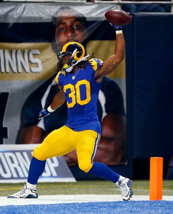 St Louis Rams Rb Todd Gurley Todd Gurley Nfl Sports Uniforms