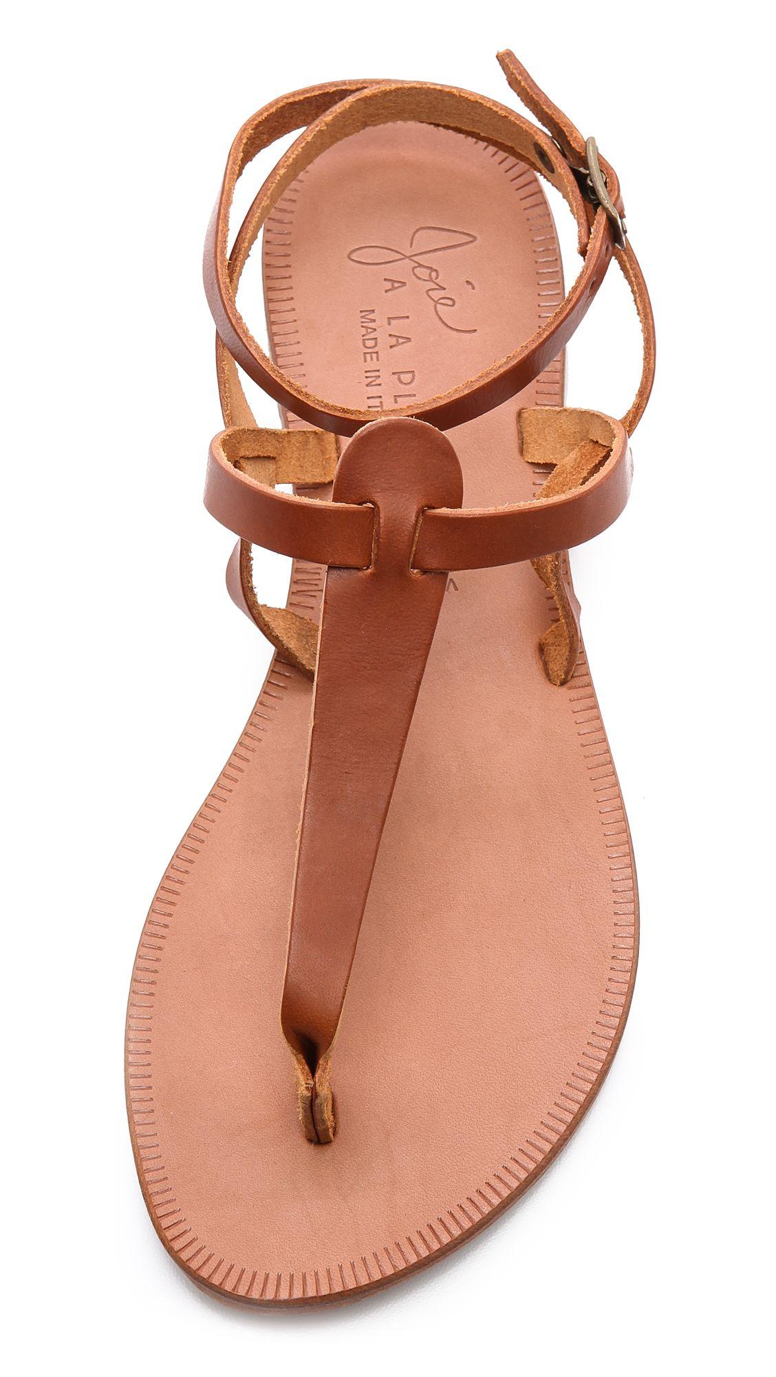 57868be65e1b Joie A La Plage Toulon Sandals - Cognac in Brown (Cognac) | Lyst ...