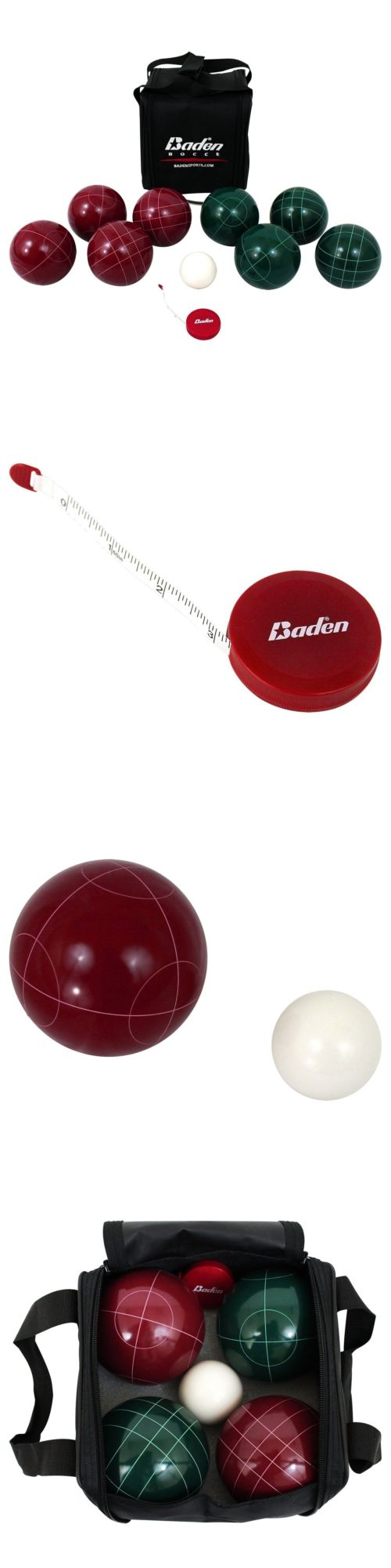 Bocce Ball 79788: Baden Champions Series Bocce Ball Set BUY IT NOW ONLY: $86.06