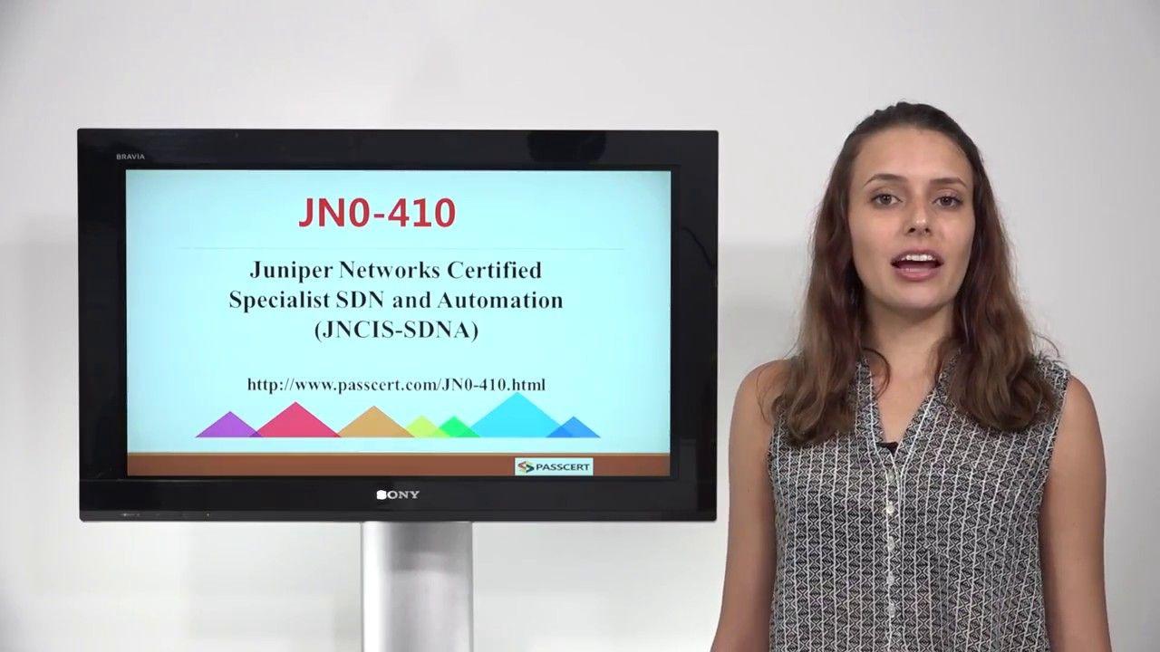 [Get $10 voucher] JNCIS-SDNA exam JN0-410 dumps,Juniper JN0-410 study guide