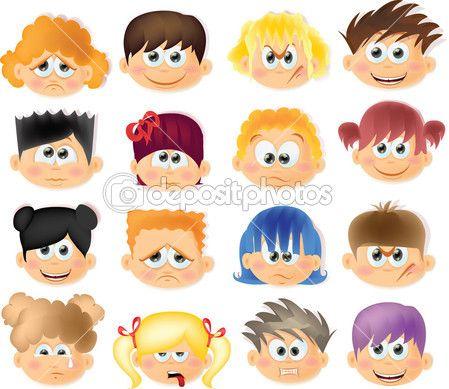 Dibujos De Cara Con Emociones Buscar Con Google Dibujos Animados Divertidos Humor Infantil Dibujos