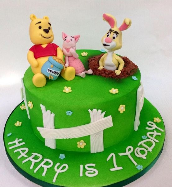 Winnie The Pooh Birthday Cake Job Photos Pinterest Birthday