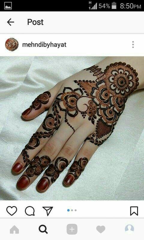 Cool Henna Designs For Girls: Unique Mehndi Designs, Mehndi