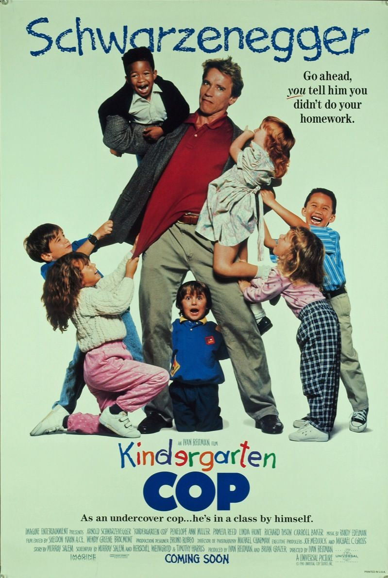 1990s Movies Kindergarten Cop 1990 Movie Moviezit With