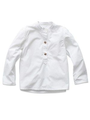 Rose Lille Oscar Shirt (Mini), Clear White