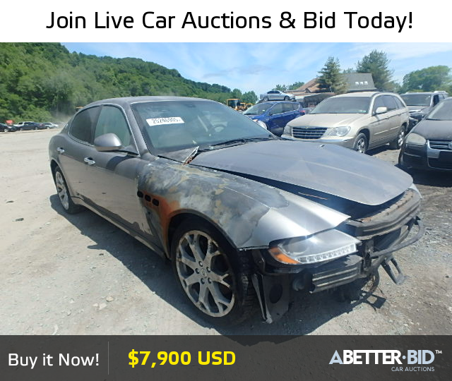 Salvage 2009 MASERATI ALL MODELS for Sale