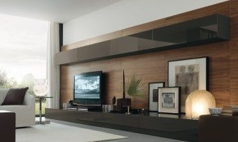 Muebles de salon de dise o tv pinterest salones de for Muebles de salon italianos