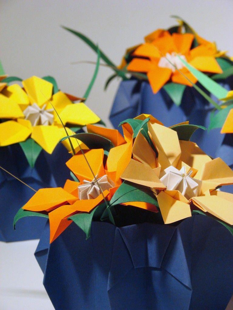 Todo Jardim Comea Com Uma Histria De Amor Origami Flowers