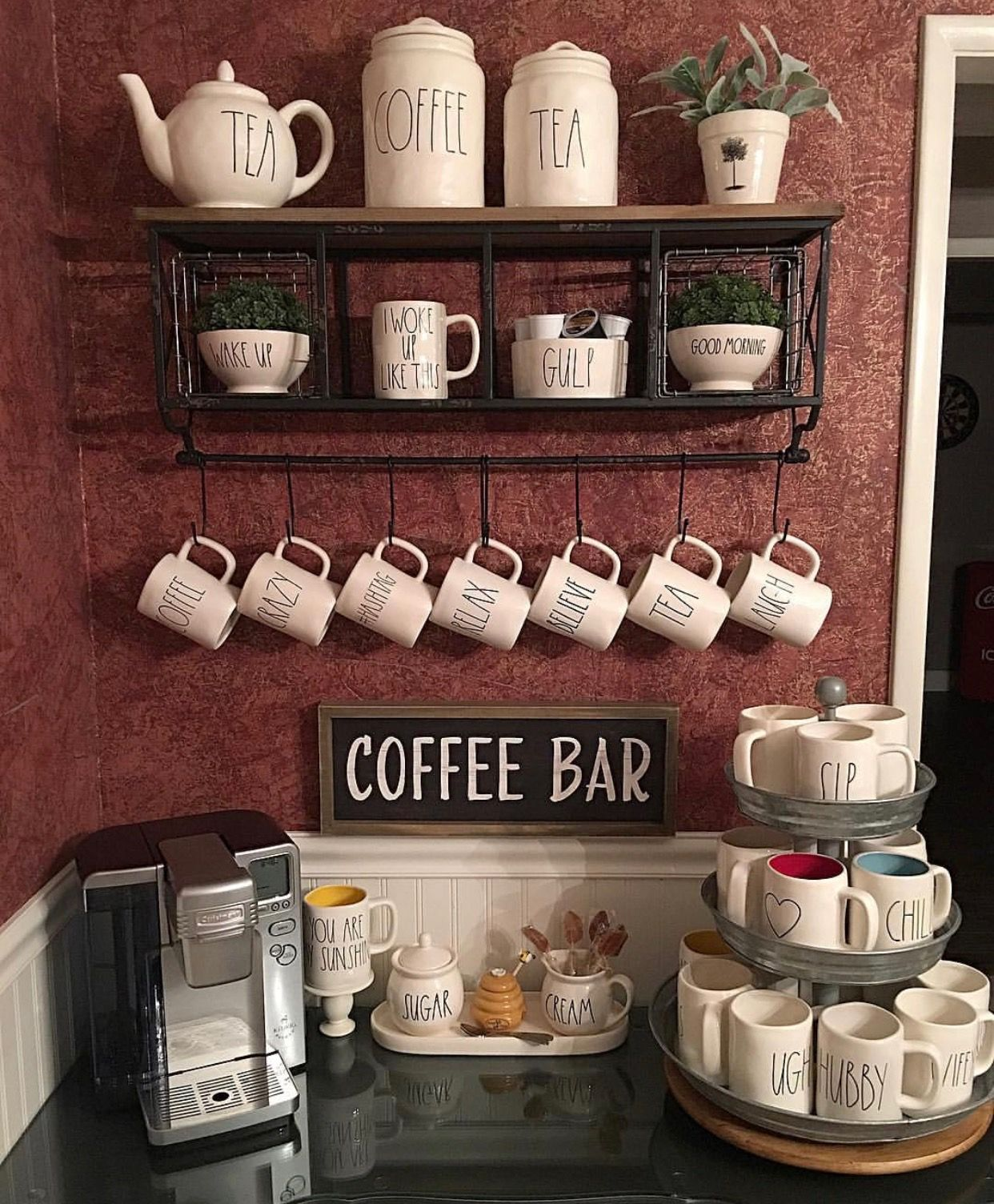 Coffee Bar Ideas Great Ideas For Making Your Own Coffee Bar At Home This Post Is All About Coffee Bar Furniture Coffee Bar Design Coffee Bar Coffee Bar Home