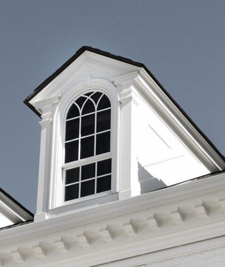 Pin By Katie Davenport On Odd Dormer Dormers Window Trim Exterior Colonial Exterior