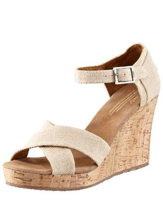 dfd50d4009a Cork Wedge Sandal | Clothes I covet | Wedge sandals, Cork wedges ...