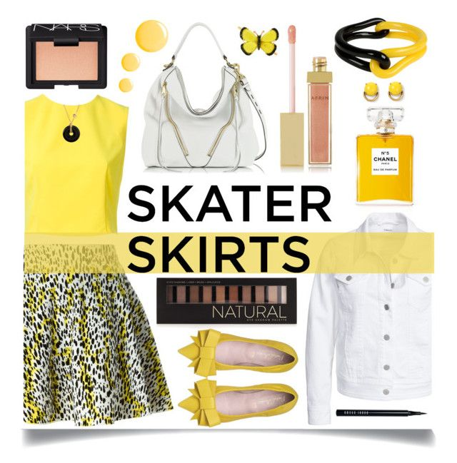 """""""Skater Girl"""" by ittie-kittie ❤ liked on Polyvore featuring Kenzo, Alice + Olivia, Filippa K, Rebecca Minkoff, Stella & Dot, Bobbi Brown Cosmetics, Forever 21, AERIN, NARS Cosmetics and Topshop"""