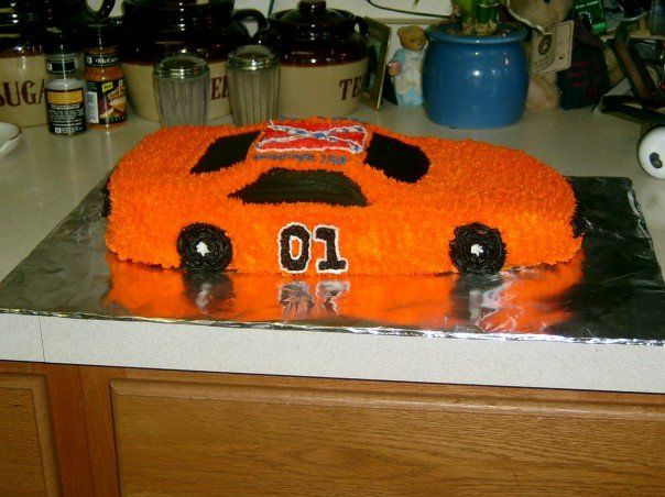 Dukes Of Hazzard Birthday Cake Results 31 45 Out Of