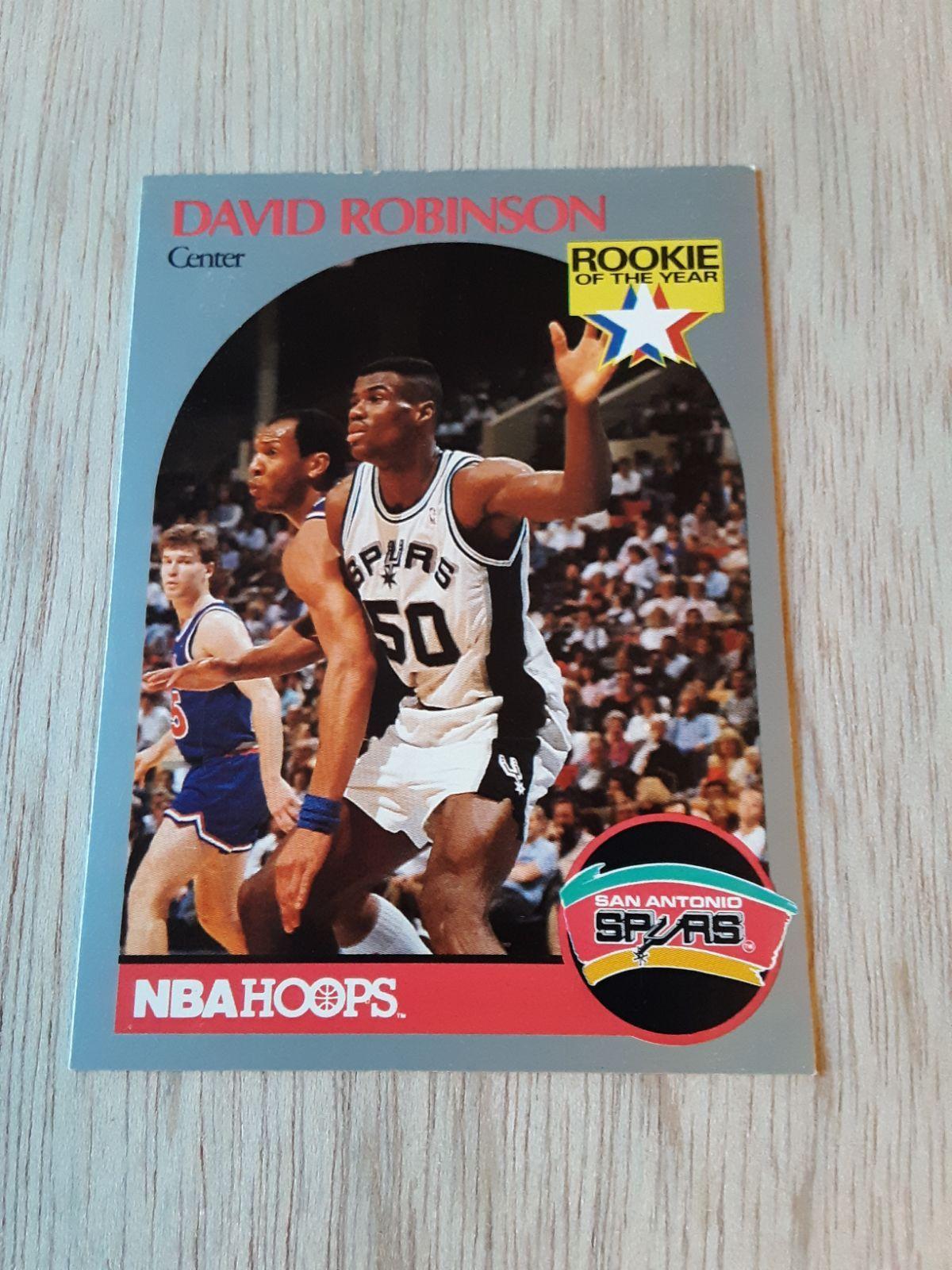 1990 nba hoops rookie of the year 1990 david