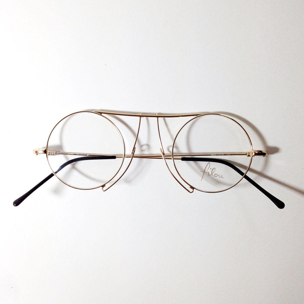 Vintage Round Eyeglasses Designer Eyeglasses Fashion Eye Glasses Mens Eye Glasses