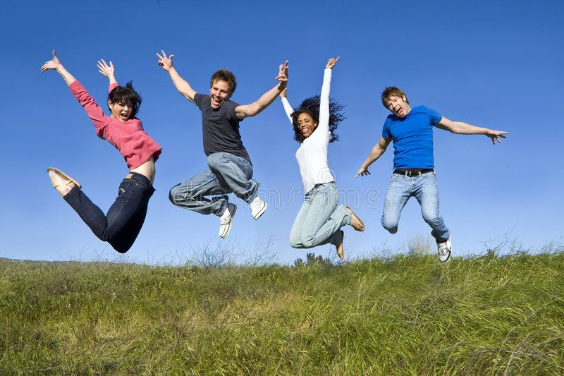 Friends Jumping Group Of Friends Jumping In The Air Ad Jumping Friends Group Air Friends Ad Kids Sports Group Of Friends Friends