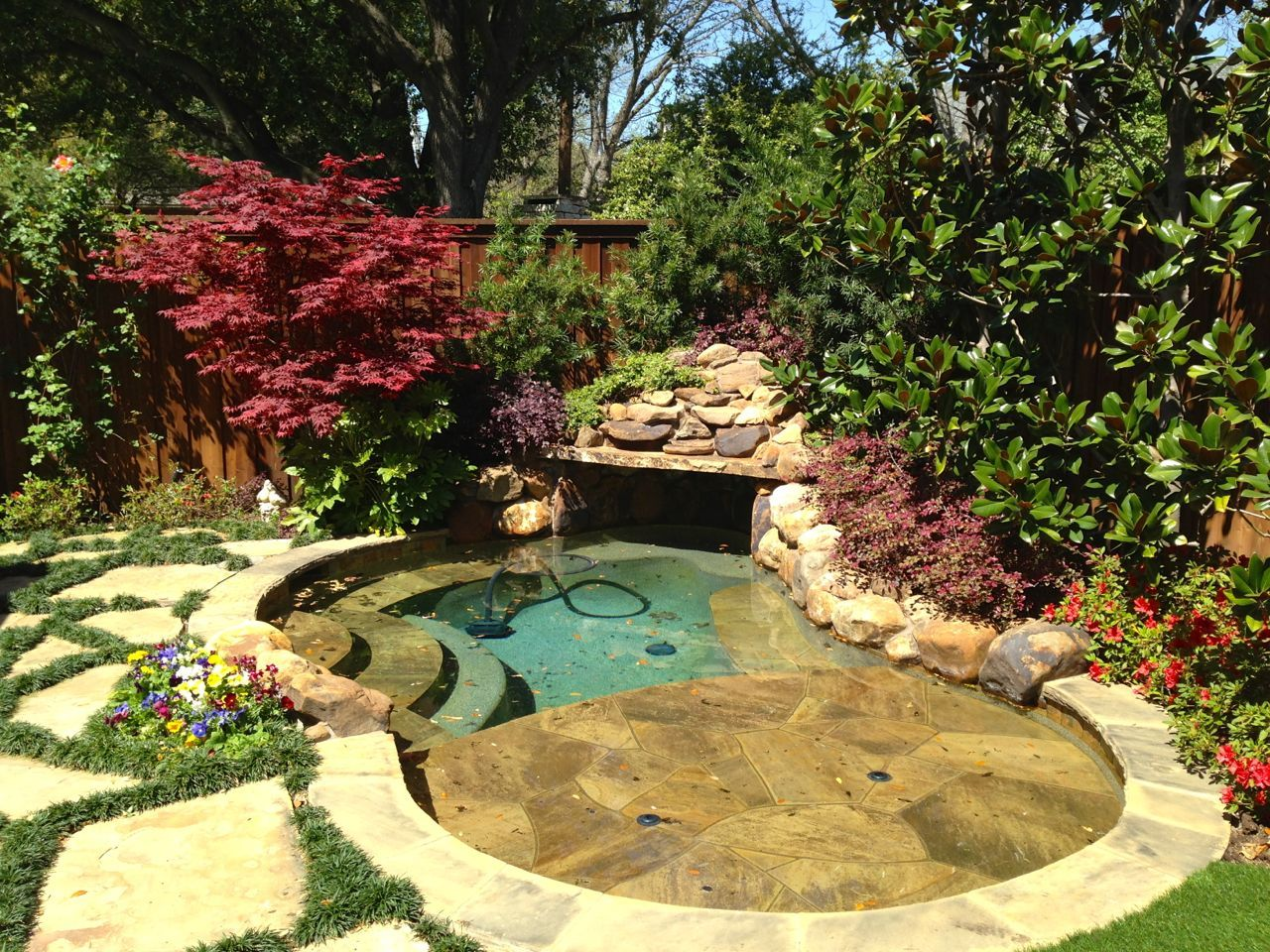 Backyard Landscaping | Texas Elite Landscaping Project ...