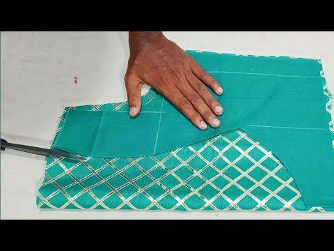 इतना सुंदर ब्लाउज डिजाइन कि आप भी जरूर बनाना चाहोगे - YouTube #indiandesignerwear