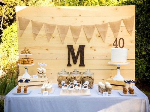 Simple 40th Birthday Party Ideas For Husband Jpg 500 375 40th
