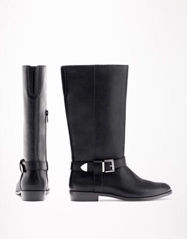 Bershka Bulgaria - BSK flat buckled boots