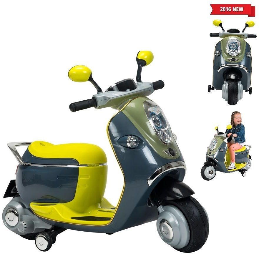 273161a9888 Kids Ride On 6V Mini Cooper Electric Scooter Children Play Fun Outdoor  Activity in Toys & Games, Outdoor Toys & Activities, Scooters   eBay
