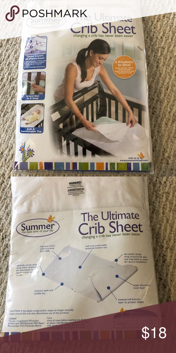 Summer Infant The Ultimate Crib Sheet In 2020 Summer Baby Crib Sheets Cribs