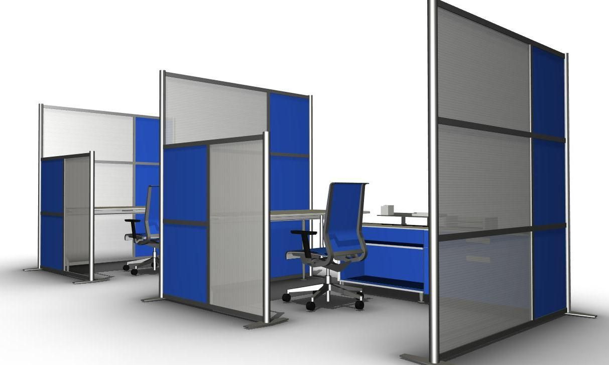 office partitions and room dividers by idivide walls are a. Black Bedroom Furniture Sets. Home Design Ideas