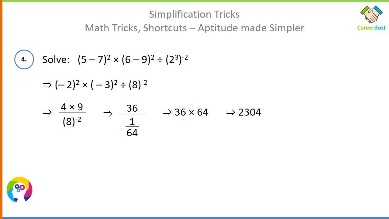 Simplification Tricks Algebra And Bodmas Problems Basics Examples Shortcuts Math Tricks Math Tricks Bodmas Math [ 720 x 1280 Pixel ]