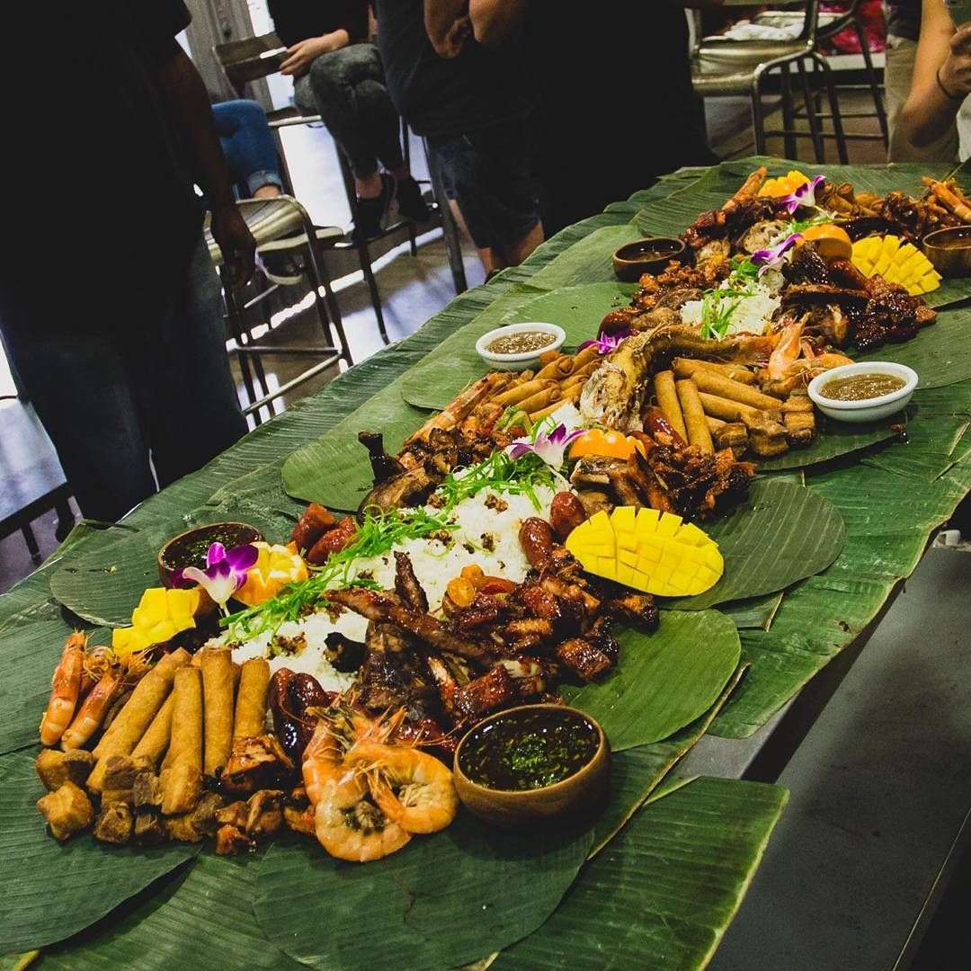 BEST MEAL OF 2016 Kamayanstyle Filipino Feast by MFK By