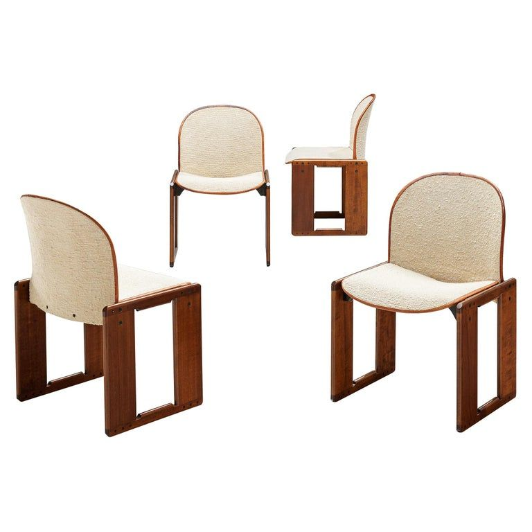 Paul Rodocanachi Jean Michel Frank Set Of Four Dining Chairs Artsy Dining Chairs Furniture Dining Chairs Chair
