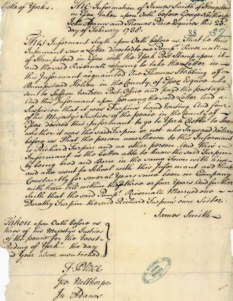 Highwayman Or Pirate  Letters
