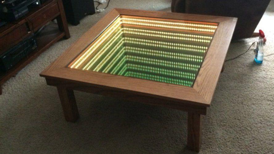Cette table basse vous fait plonger dans l infini sympa non
