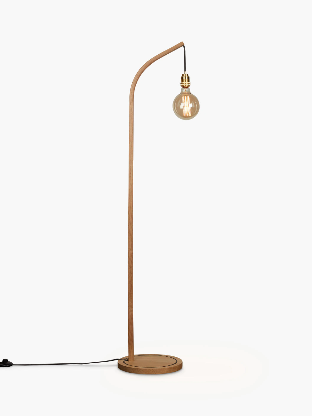 Tom Raffield Mooring Floor Light Oak In 2020 Floor Lights Free Standing Lamps Floor Standing Lamps