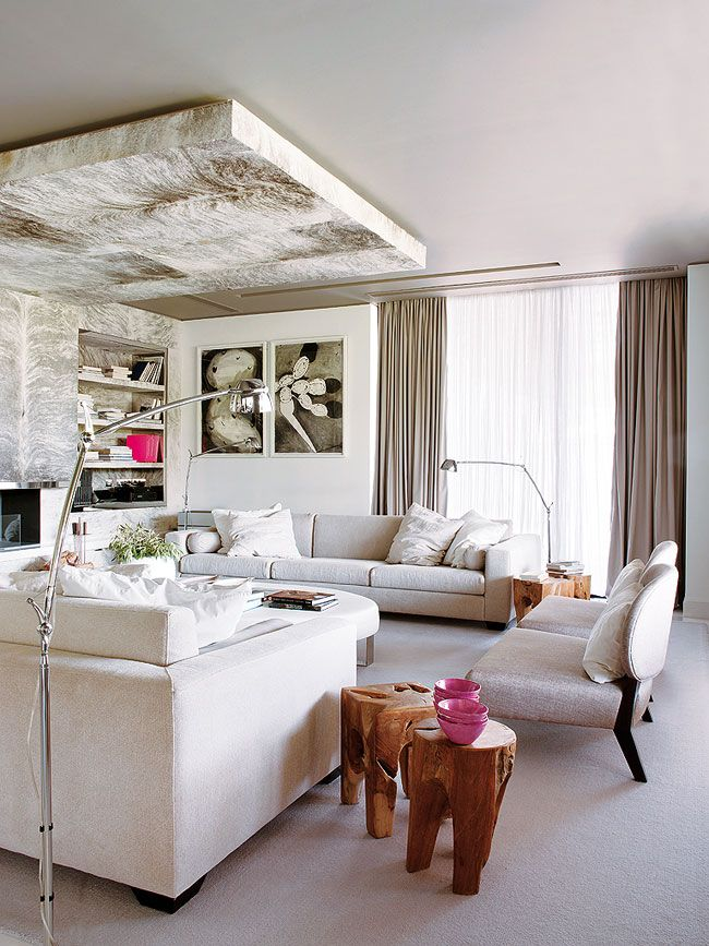 Chic And Elegant Interior Design For Private Townhouse In Lisbon
