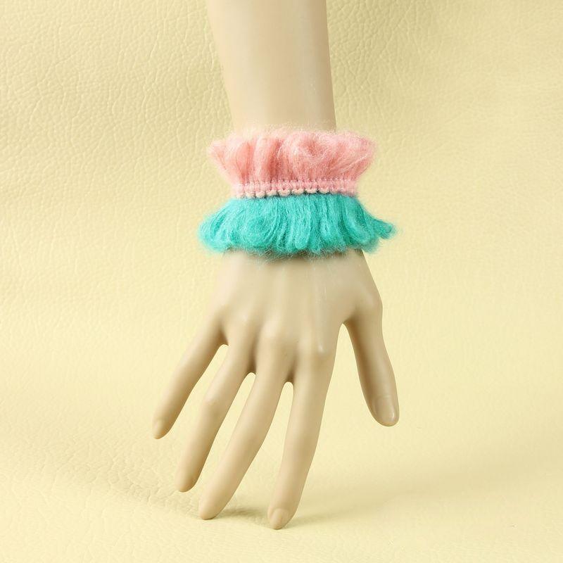 Rainbow Smile Cute Little Girls Handmade Lolita Wrist Strap