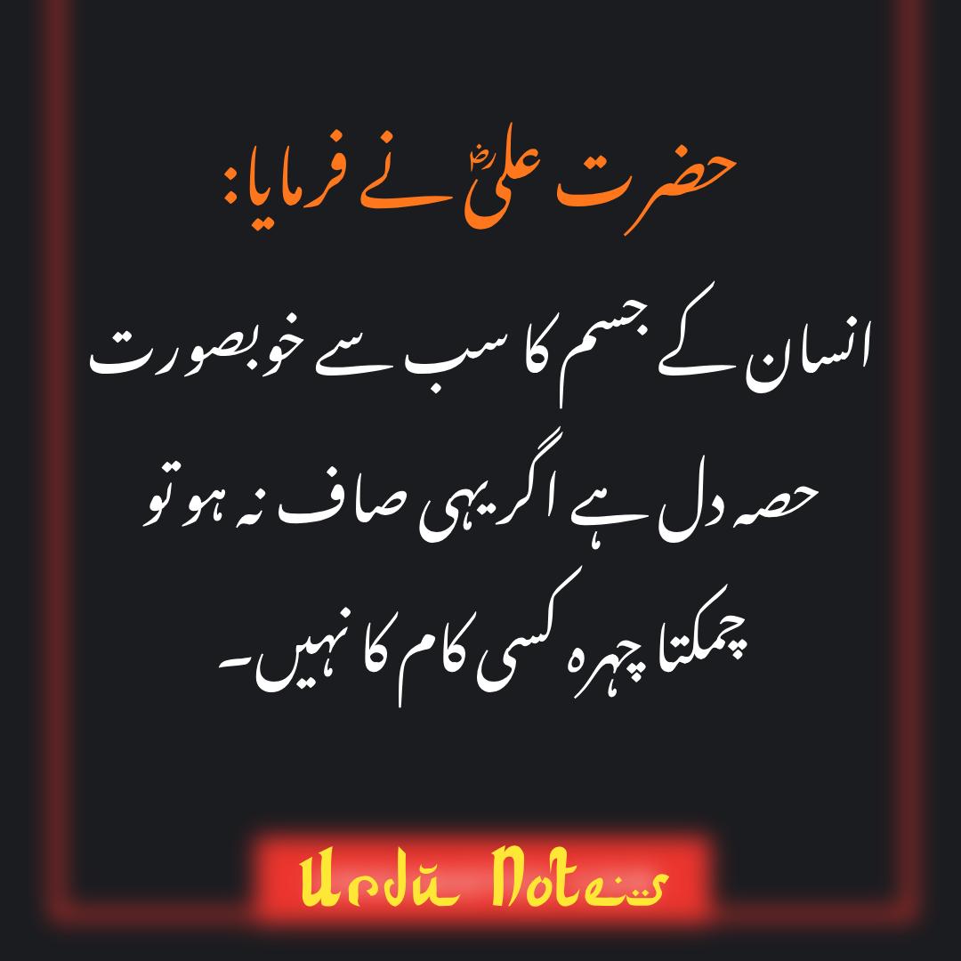 Hazrat Ali Quotes In Urdu in 2020 (With images)   Ali ...
