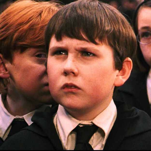 Harry Potter Characters In The First Movie Vs The Last Movie Harry Potter Characters Harry Potter Neville Longbottom Harry Potter