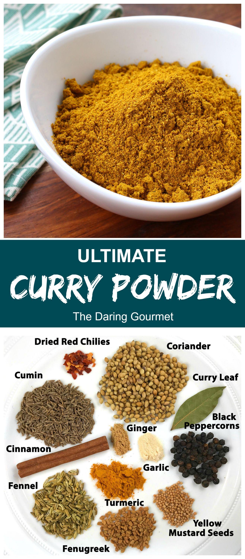 Best Curry Powder Recipe Homemade Curry Powder Spice Mix Recipes Homemade Curry