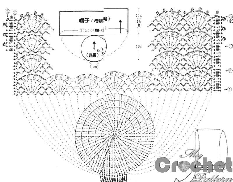 Lace Crochet Bonnet For Newborns Free Pattern Mycrochetpattern Crochet Diagram Baby Hat Patterns Newborn Pattern