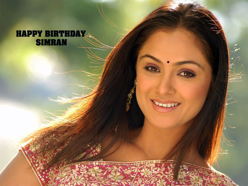 Happy Birthday Evergreen Actress Simran! http//www