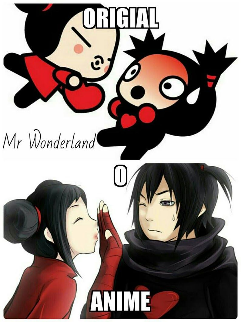 Pucca And Garu Original And Anime Version Things I Love