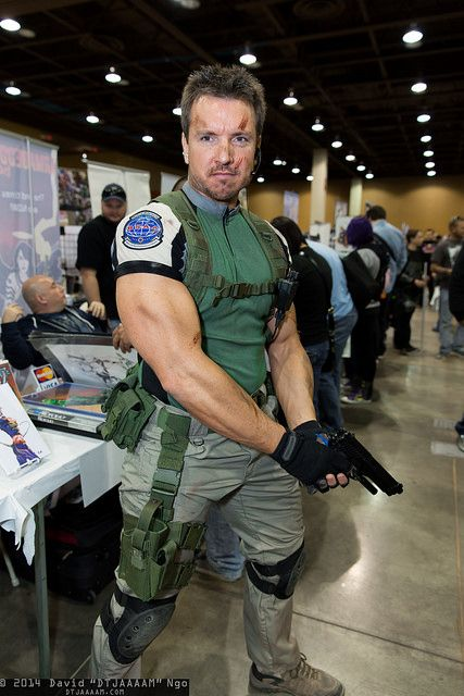 Chris Redfield Resident Evil Cosplay Video Game Cosplay