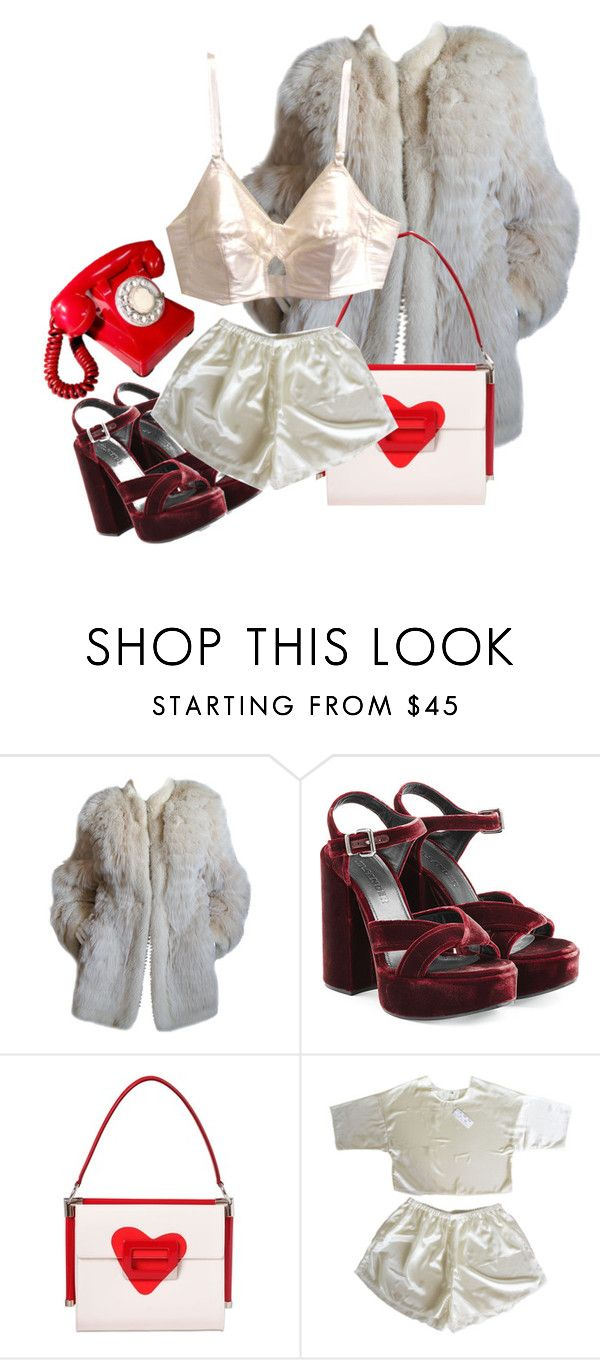 """Untitled #85"" by valiumbaby ❤ liked on Polyvore featuring Yves Saint Laurent, Jil Sander and Roger Vivier"
