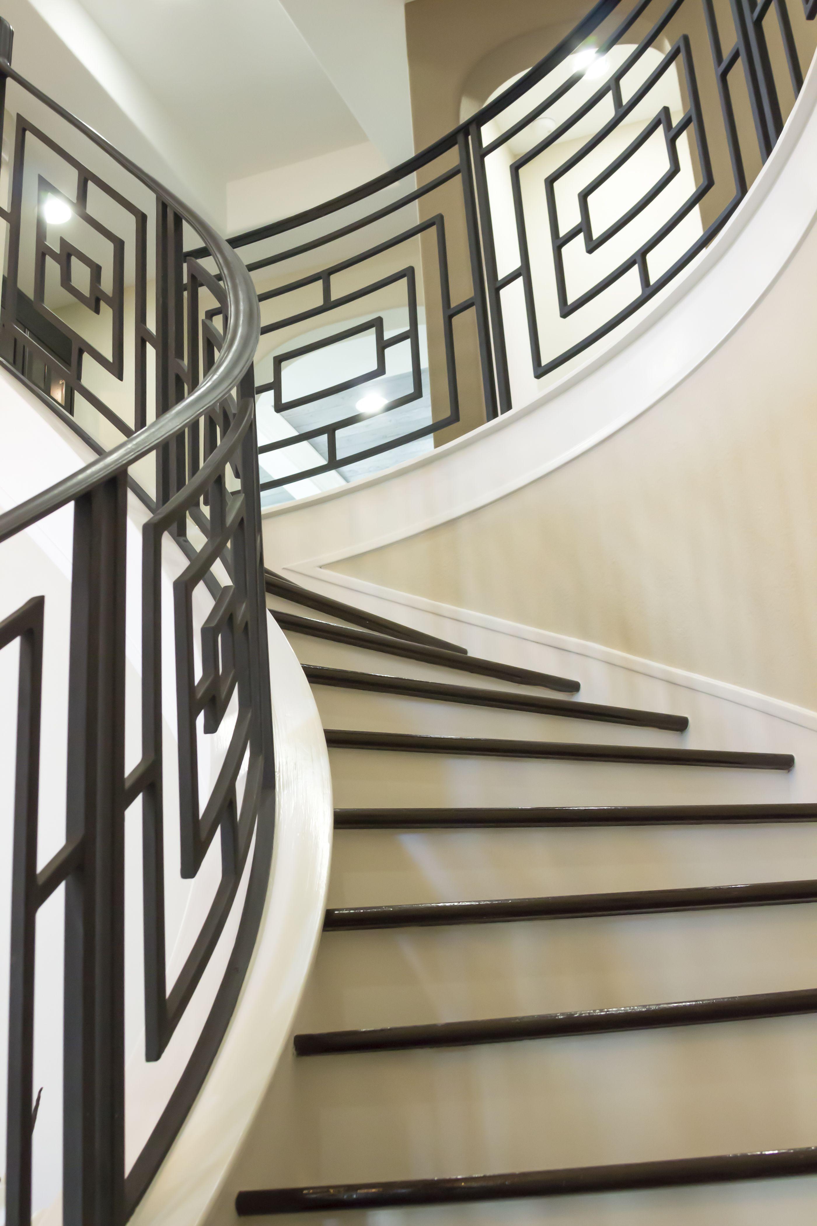 Best Custom Stairs Iron Stair Railing Wrought Iron Stair 400 x 300