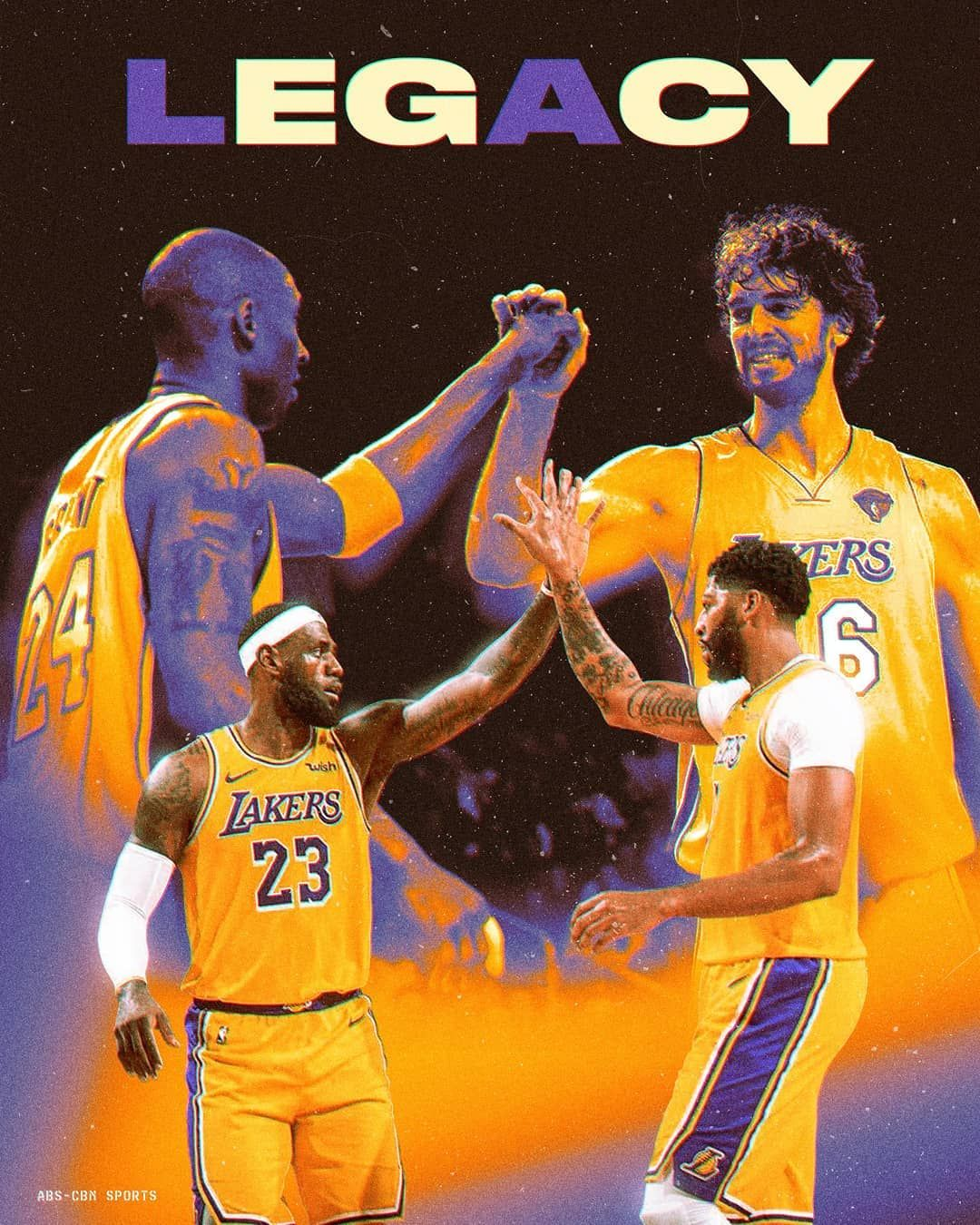 1 162 Likes 6 Comments Lakers Forever Lakers24ever On Instagram It S Been 10 Years Since The Lak Kobe Bryant Pictures Kobe Bryant Poster Nba Wallpapers Kobe and lebron lakers wallpaper iphone