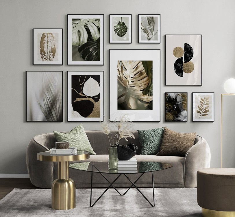 Gallery Wall For The Living Room Inspiration For The Living Room Desenio In 2020 Gallery Wall Living Room Picture Wall Living Room Inspiration Wall