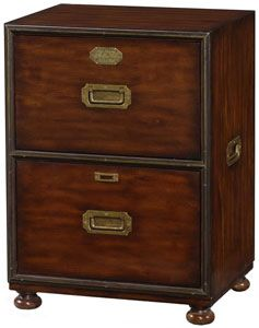 Theodore Alexander Abc File Cabinet With 2 Drawers Furniture Accessories Cabinet Filing Cabinet
