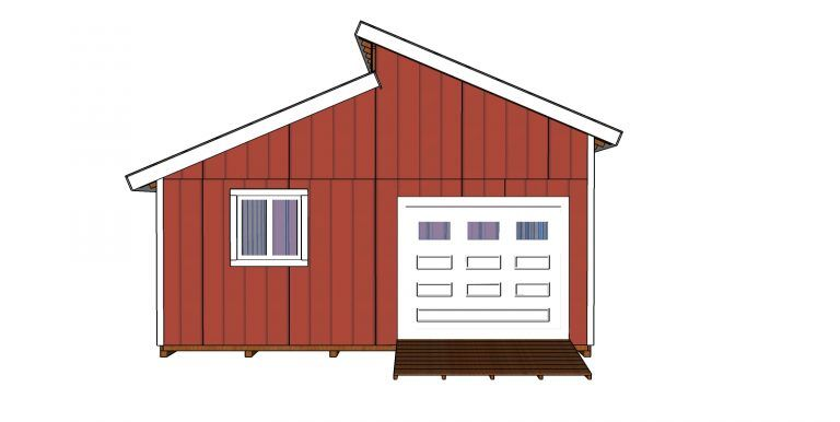 20x20 Clerestory Shed Free Shed Plans And Drawings Myoutdoorplans Free Woodworking Plans And Projects Diy Shed Wooden P Free Shed Plans Shed Plans Shed